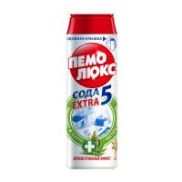 Универсальное чистящее средство ПЕМОЛЮКС ЭКСТРА порош 480г (антибактериал)