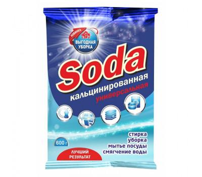 Сода кальцинированная 600гр РК