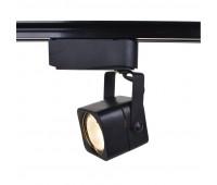 Светильник трековый Arte Lamp LENTE A1314PL-1BK тип лампы GU10 50Вт