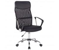 Кресло BN_Sp_EСhair-588 TPU сетка/ткань/кожзам черный, хром
