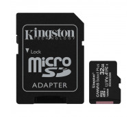 Карта памяти Kingston Canvas Select Plus microSDHC UHS-I +ад, SDCS2/32Gb