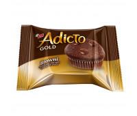 Кекс ETI Adicto Gold с шоколадной соусом, 36г, 13666