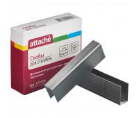 Скобы для степлера N23/23 ATTACHE оцинкованные(180-240 лист) 1000 шт в уп.