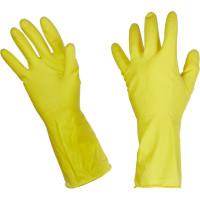 Перчатки резиновые PACLAN Professional латекс желтый р-р М