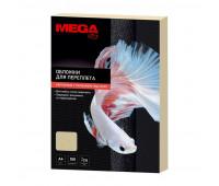 Обложки для переплета картонные Promega office беж.кожаA4,230г/м2,100шт/уп.