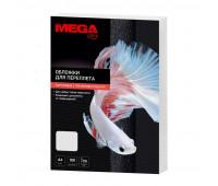 Обложки для переплета картонные Promega office бел.ленA4,250г/м2,100шт/уп.