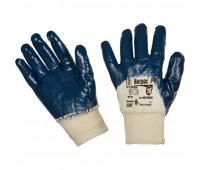 Перчатки защитные Ампаро Нитрос неполное нитрилов покр резинка (446575)р.10