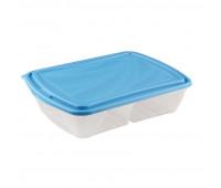 Контейнер 2-х секционный Breeze для холодильника и СВЧ,1,25л