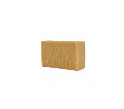 Мыло хозяйственное 72%  светло коричневое 200гр/ 56шт