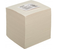 Блок для записей ATTACHE ЭКОНОМ на склейке 9х9х9 белый Т