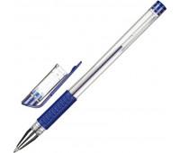 Ручка гелевая Attache Economy синий стерж., 0,5мм, манжетка