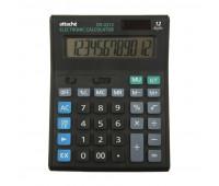 Калькулятор ПОЛНОРАЗМЕРНЫЙ настольный Attache Economy 12 разр., чёрный