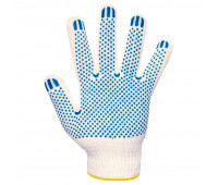 Перчатки 6-нитка с ПВХ Точка
