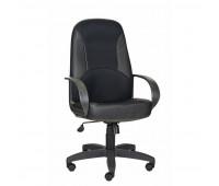 Кресло OL_CH 674 TPU ткань/экокожа черная, пластик черный