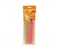 Трубочки для коктейля ПРАЗДНИЧНЫЕ цвет в асс 50шт PATERRA арт.401-430