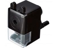 Точилка механическая Attache Economy, 8 мм, фиксация карандаша, чёрная