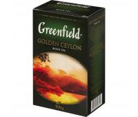 Чай Greenfield Golden Ceylon листовой черный,100г 0351-14,133554