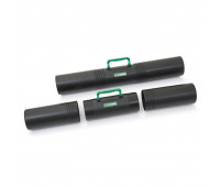 Тубус D100 мм,L650 мм,3 секц.,с ручкой,черн,ПТ-41