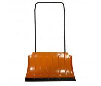 Движок для уборки снега стальной 0,8мм ДСФ 750х430мм порошковая окраска
