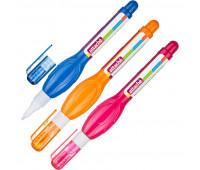 Корректирующая ручка 5 мл Attache с металлическим наконечником цвет ассорти