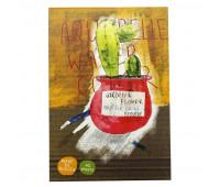 Альбом д/рисов.акварелью 40л А4,склейка,тв.подл,бл.180гр Серия Flower 00017