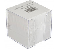 Блок для записей в подставке 9х9х9 белый блок