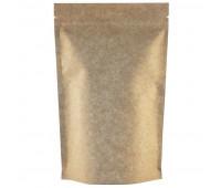 Пакет Дой-пак бумажный Zip Lock 135х225+(35+35) мм 500шт/уп