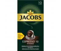 Кофе в капсулах JACOBS Espresso 10 Intenso, 10x5г