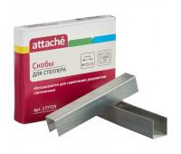 Скобы для степлера N23/13 ATTACHE оцинкованные (70-100лист)1000шт в уп.