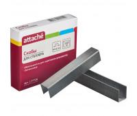 Скобы для степлера N23/15 ATTACHE оцинкованные (100-130 лист) 1000 шт в уп.