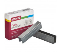 Скобы для степлера N23/20 ATTACHE оцинкованные (160-180 лист) 1000 шт в уп.