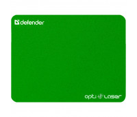 Коврик д/мыши Defender Silver opti-laser 220х180х0.4 мм цвет в асс