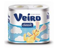 Бумага туалетная Linia Veiro 2сл бел вторич втул 17,5м 140л 4рул/уп 5С24