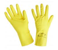 Перчатки защитные латекс Ansell Эконохэндс 87-190, р.8.5-9.0