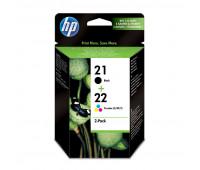 Картридж струйный HP 21/22 SD367AE для DJ F370/F380/F2180/F4180 (2шт/уп)
