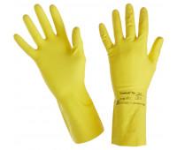 Перчатки защитные латекс Ansell Эконохэндс 87-190, р.6.5-7.0