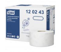 Бумага туалетная Tork Premium T2 2с мин бел170м 850л 110253/120243 12рул/уп