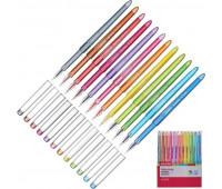 Набор гелевых ручек одноразовых Attache Harmony 12 цветов (толщина линии 0.5 мм)