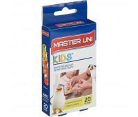 Набор пластырей Детский KIDS Master Uni 20 шт/уп.