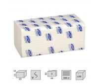 Полотенца бумажные листовые Luscan Professional V-сложения 2-слойные 20 пачек по 200 листов