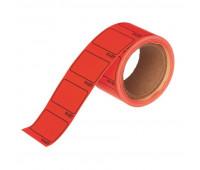 Ценники самоклеящиеся Цена 35x25мм, красная 250шт/рул, 5 рул/уп