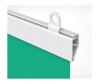 Комплект пластиковых подвесных профилей для плакатов, CLICKER длина 600мм