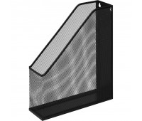 Вертикальный накопитель Attache для бумаг металл сетка, ширина 72мм чёрный
