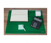 Коврик на стол Attache Selection 47,5x66см, прозрачный зеленый, 2808-508