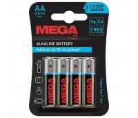 Батарейки Promega jet, алкалин, MJ15A-2CR4, AA, 4 шт/уп