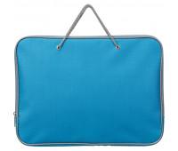 Папка на молнии с ручками офисн. А4 Attache F.L.голубой, нейлон