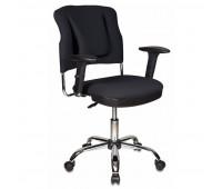 Кресло с ортопедическими свойствами VB_СН-323ASXN/B ткань черн.26-28