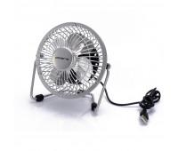 Вентилятор настольный Polaris PUF 1012S, USB подключ, 2,5 Вт, диам.12 см