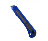 Нож канцелярский 18 мм Attache Economy с фиксатором, полибег, цв.вассорт.