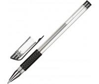 Ручка гелевая Attache Economy черный стерж., 0,5мм, манжетка